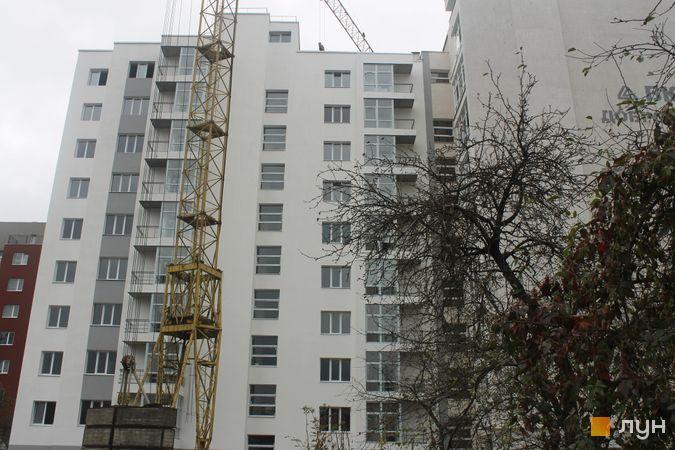Хід будівництва вул. Замарстинівська, 162-164, 2 секція, листопад 2019