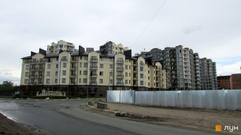 Хід будівництва ЖК Rich Town, 7 будинок (вул. Західна, 2), травень 2016