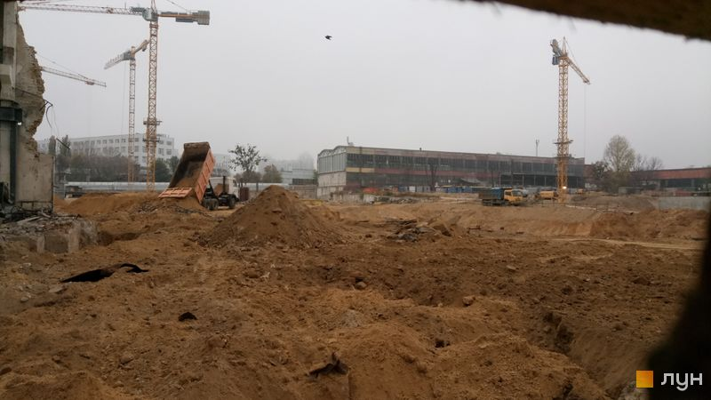 Хід будівництва ЖК UNIT.Home, , листопад 2019