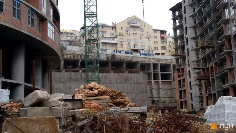 Ход строительства ЖК Mirax, 6 дом, ноябрь 2019