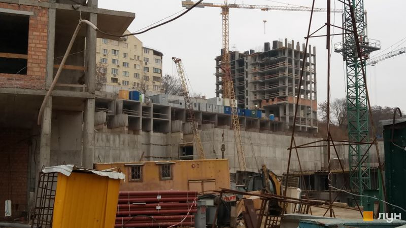 Ход строительства ЖК Mirax, 7 дом, ноябрь 2019