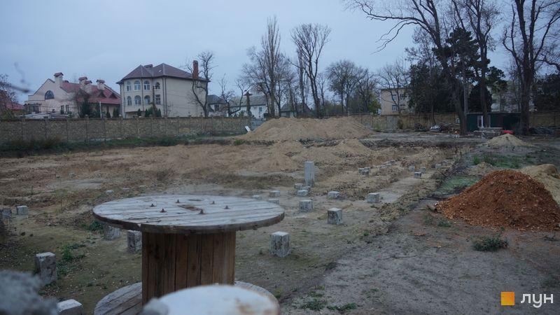Ход строительства Клубный дом «Сапфир», , ноябрь 2019