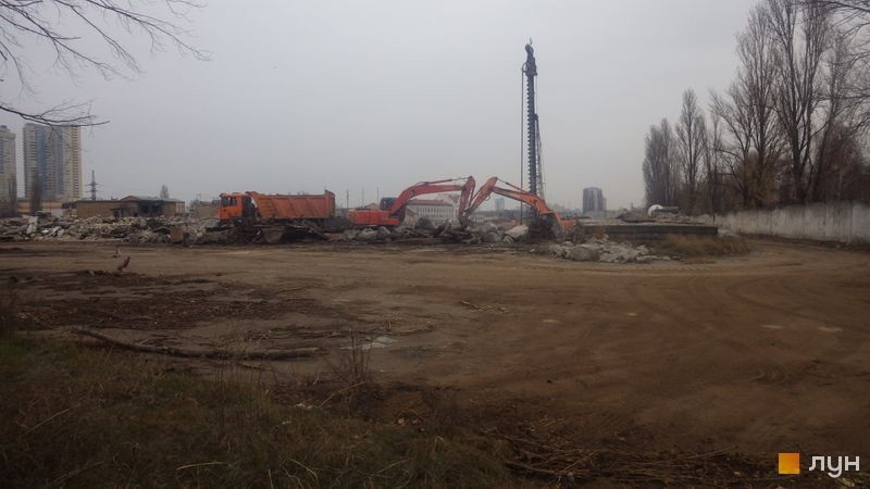 Ход строительства ЖК Star City, , ноябрь 2019
