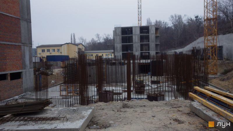 Хід будівництва ЖК Голосіївська Долина, 2 будинок  (секція 2), листопад 2019