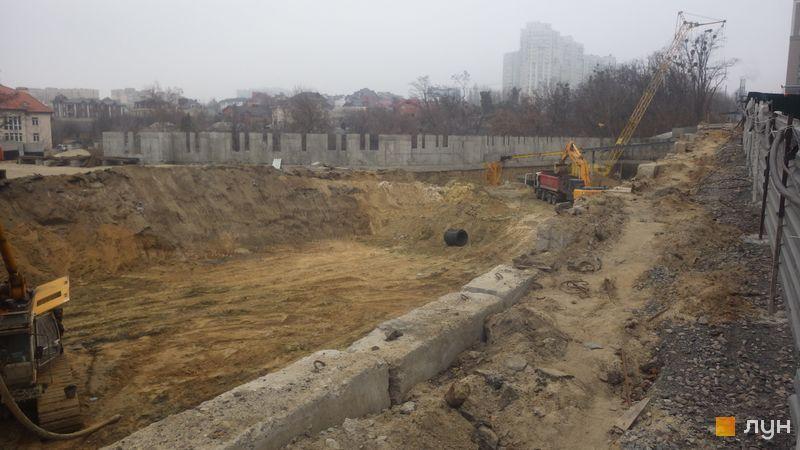 Хід будівництва ЖК Новопечерські Липки, , листопад 2019