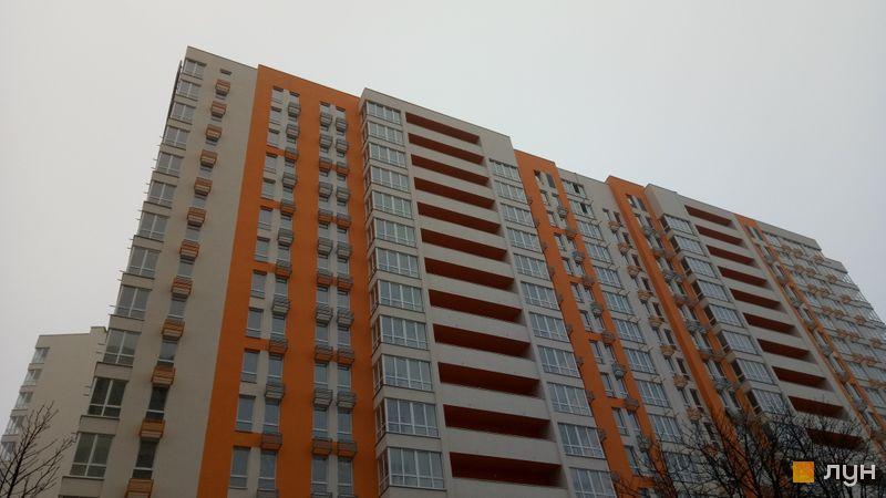 Хід будівництва ЖК Нивки-Парк, 5 будинок, листопад 2019
