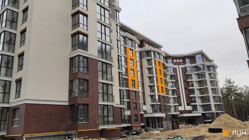 Ход строительства ЖК На Прорезной, 6 дом, ноябрь 2019