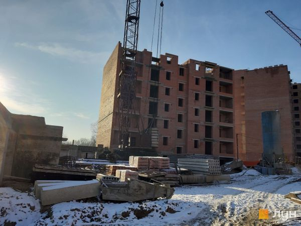 Ход строительства ЖК Квартал Галицкий, , декабрь 2019
