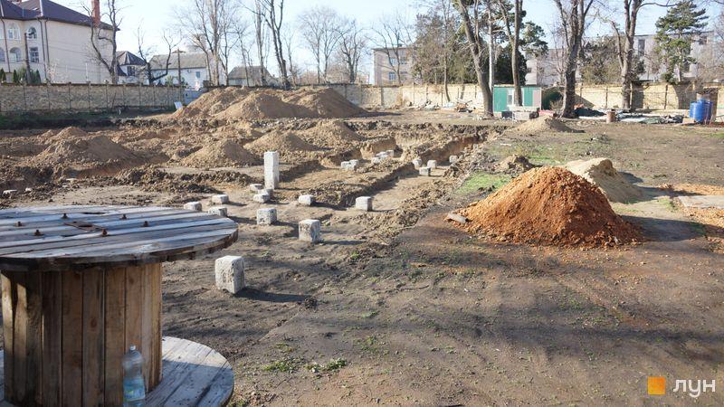 Ход строительства Клубный дом «Сапфир», , декабрь 2019