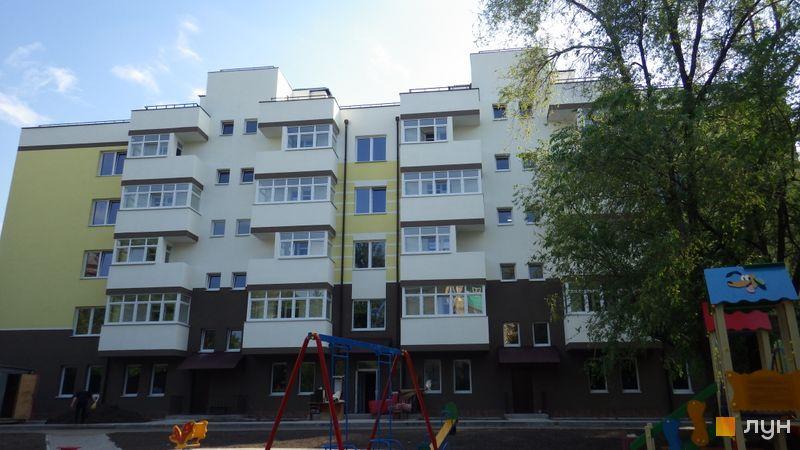 Ход строительства бул. Чоколовский, 27б, Дом, май 2016