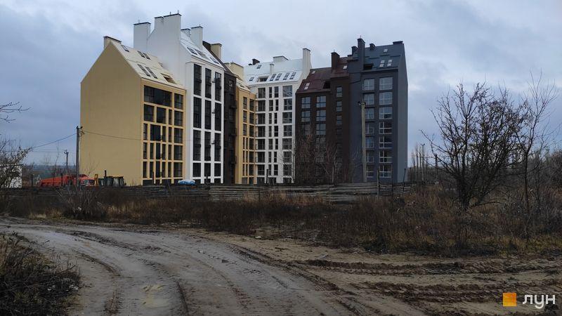 Ход строительства ЖК Белый Шоколад.Center, 10 очередь (ул. Величко, 22, 24а, 24б), декабрь 2019