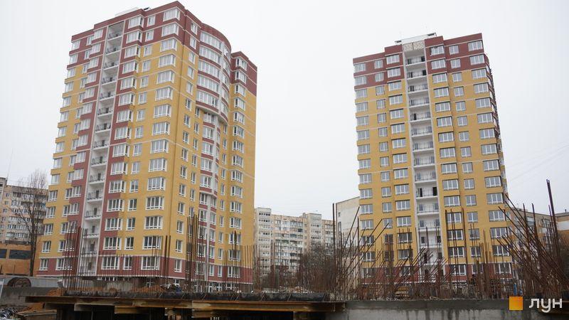 Хід будівництва ЖК SunCity, 1-2 будинки, грудень 2019