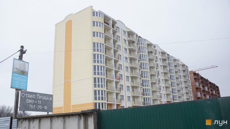 Ход строительства ЖК Теплый дом, 1 дом, декабрь 2019