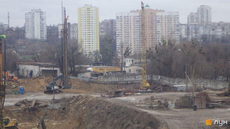 Хід будівництва ЖК Новопечерські Липки, , грудень 2019