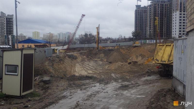 Ход строительства ЖК Fjord, , декабрь 2019