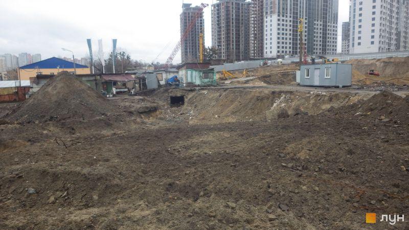 Ход строительства ЖК Delrey, , декабрь 2019