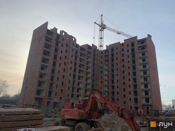 Ход строительства ЖК Квартал Галицкий, , январь 2020