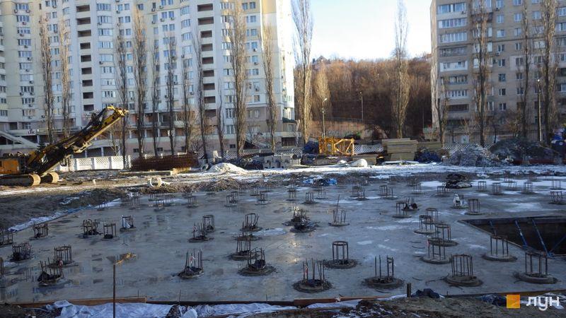 Хід будівництва ЖК CITY HUB, , січень 2020