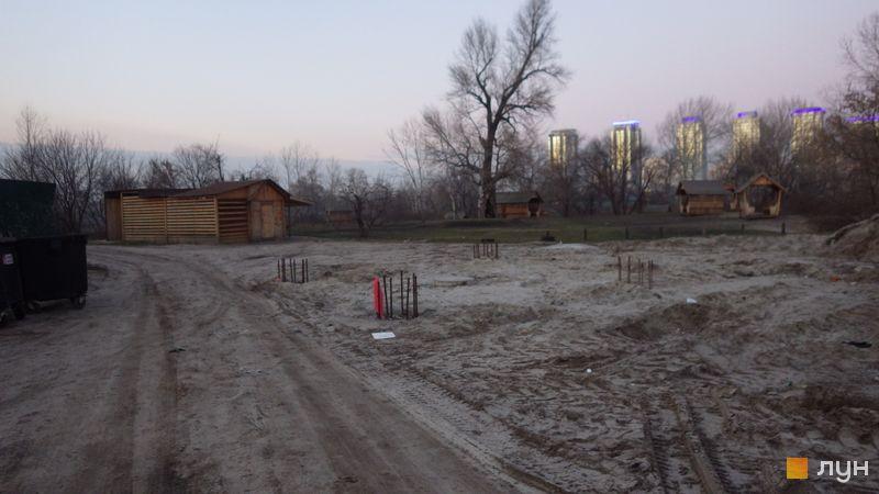Хід будівництва ЖК Славутич 2.0, , січень 2020
