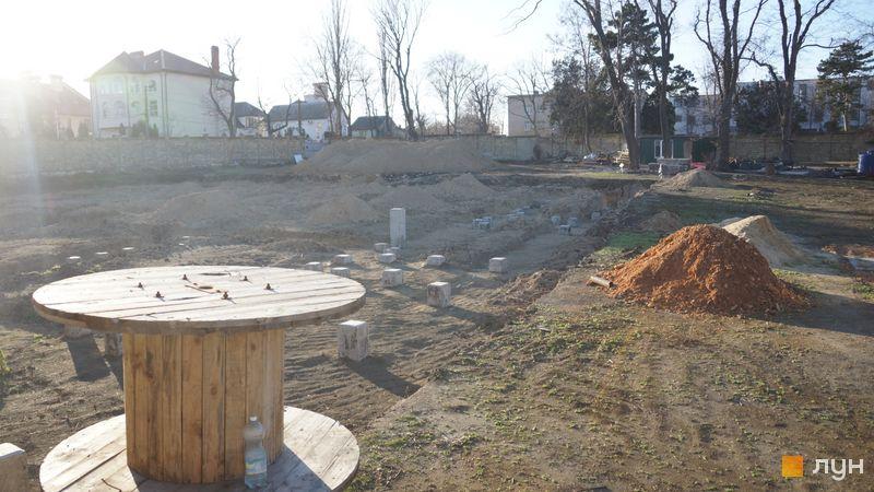 Ход строительства Клубный дом «Сапфир», , январь 2020