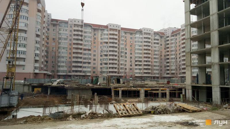 Хід будівництва ЖК Нові Черемушки, 2 будинок (секції 4, 5), січень 2020