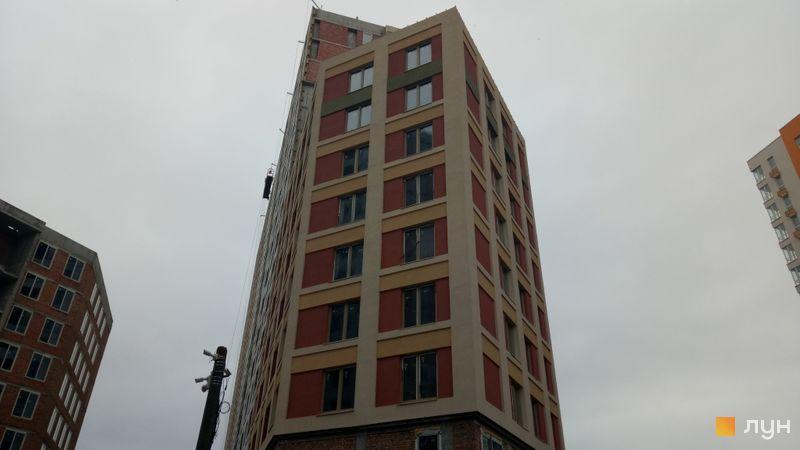 Ход строительства ЖК San Francisco Creative House, 1 дом (секция 1), январь 2020