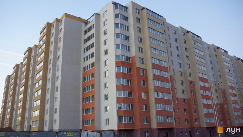 Ход строительства ЖК Сахарова, 1-8 секции, январь 2020