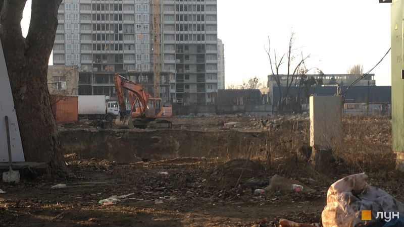 Хід будівництва ЖК Wellspring, , січень 2020