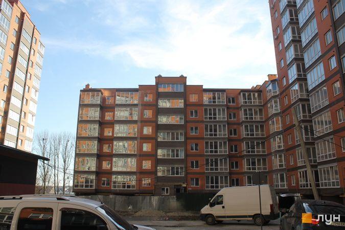Ход строительства ЖК Фамилия, 9 дом, январь 2020