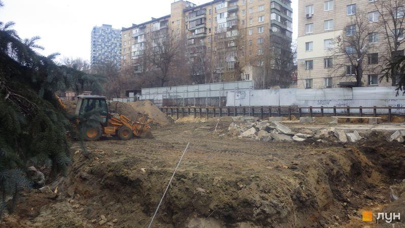 Ход строительства ЖК Washington Concept House, , январь 2020