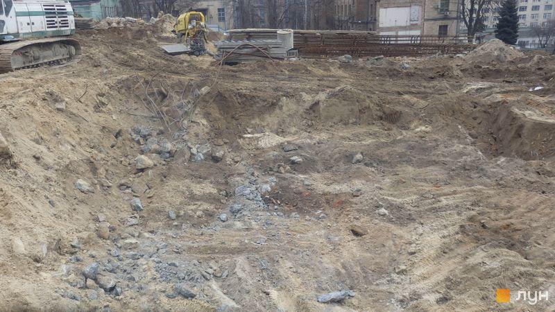 Ход строительства ЖК Stanford, , январь 2020