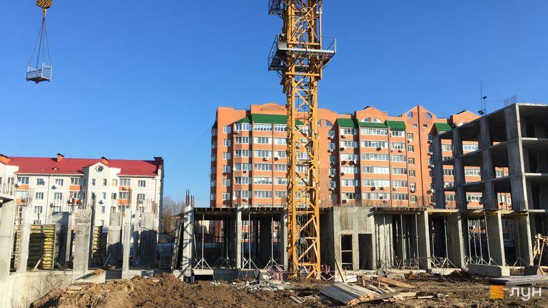 Ход строительства ЖК Новые Теремки, 4 очередь (дома 16-17), январь 2020