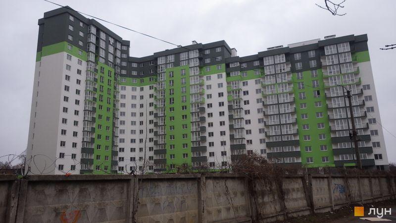 Хід будівництва ЖК Сирецькі сади, 2 будинок, січень 2020