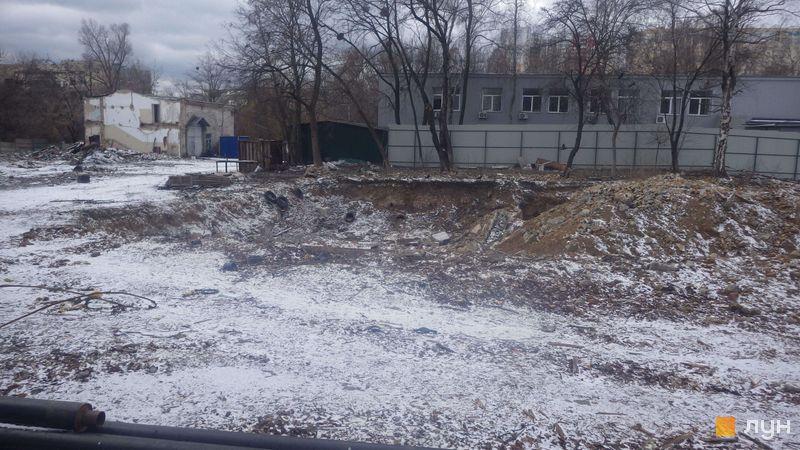 Хід будівництва ЖК Голосіївський, , січень 2020