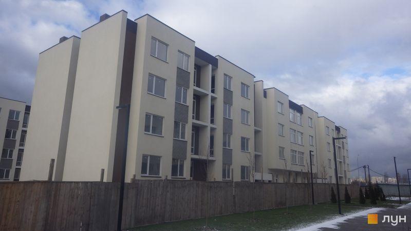 Ход строительства ЖК PARKLAND, дом Smart 14, январь 2020