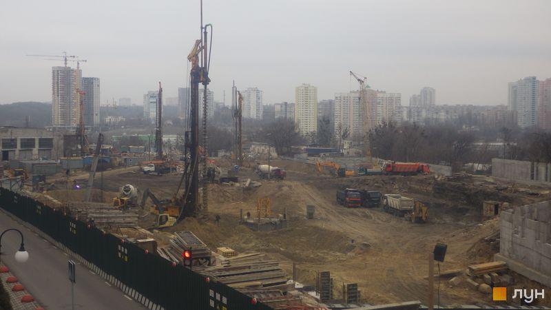 Хід будівництва ЖК Новопечерські Липки, , січень 2020