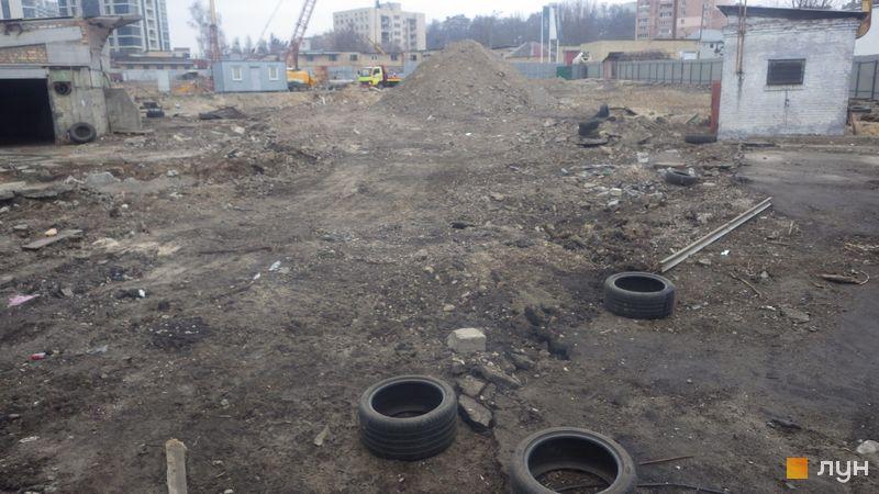 Ход строительства ЖК Delrey, , январь 2020