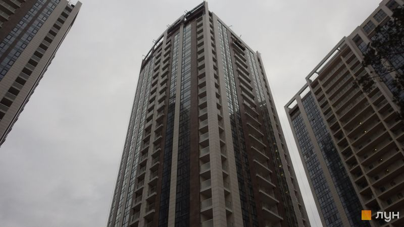 Ход строительства ЖК Автограф, 2 дом, январь 2020