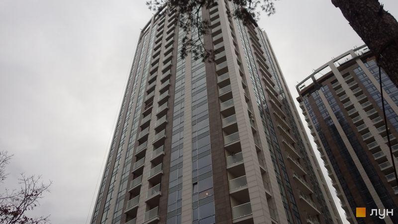 Ход строительства ЖК Автограф, 3 дом, январь 2020