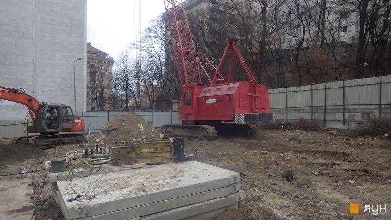 Хід будівництва ЖК Krauss Gallery, , лютий 2020