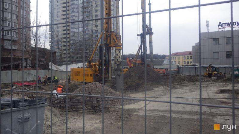Хід будівництва ЖК А136 Highlight Tower, , лютий 2020