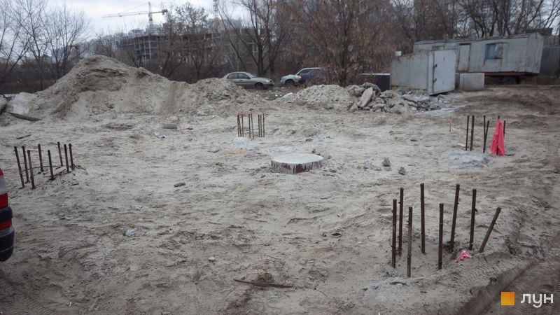 Хід будівництва ЖК Славутич 2.0, , лютий 2020