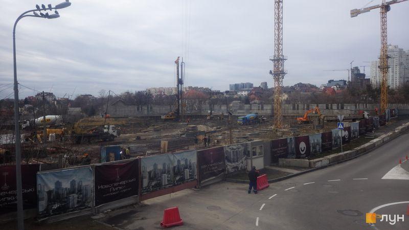 Хід будівництва ЖК Новопечерські Липки, , лютий 2020