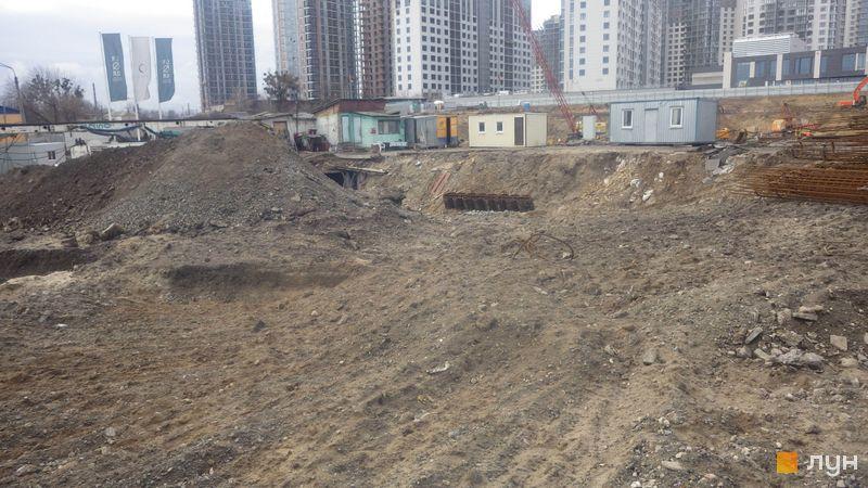 Ход строительства ЖК Delrey, , февраль 2020