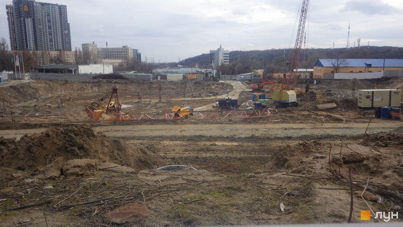 Ход строительства ЖК Fjord, , февраль 2020