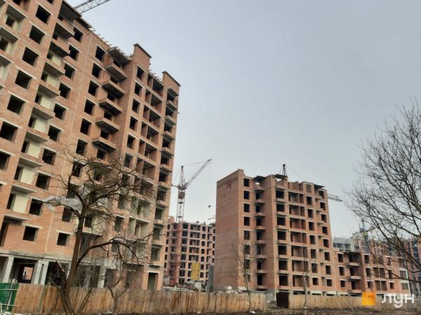 Ход строительства ЖК Квартал Галицкий, , март 2020
