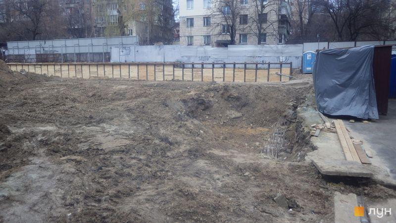 Ход строительства ЖК Washington Concept House, , март 2020