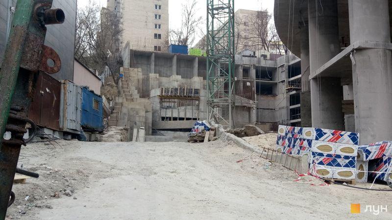 Ход строительства ЖК Mirax, 5 дом, март 2020