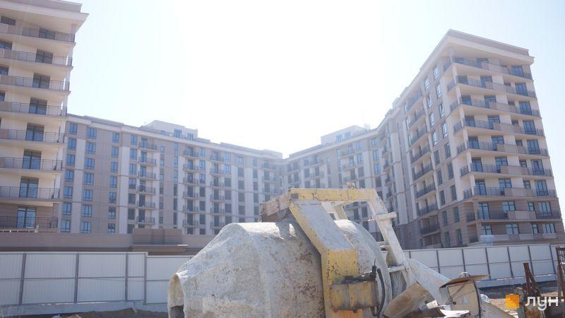 Хід будівництва ЖК Парк Фонтанів, Будинок 1, березень 2020