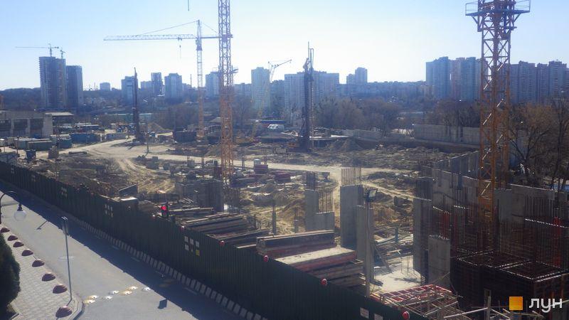 Хід будівництва ЖК Новопечерські Липки, , березень 2020
